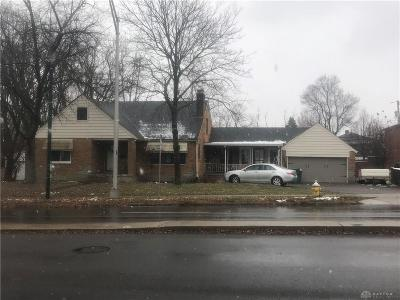 Dayton OH Single Family Home For Sale: $36,000