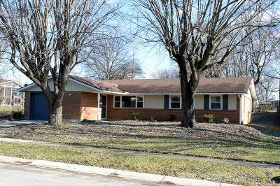 Dayton Single Family Home For Sale: 6162 Cruxten Drive
