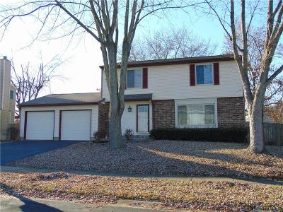 Dayton Single Family Home For Sale: 4491 Summit Ridge Drive