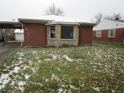 Dayton Single Family Home For Sale: 4922 Marcy Road