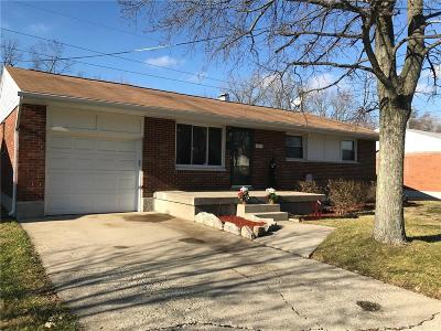 Dayton OH Single Family Home For Sale: $110,295