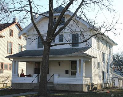 Dayton OH Single Family Home For Sale: $74,900