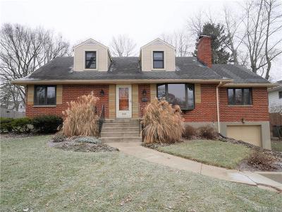Kettering Single Family Home For Sale: 509 Claridge Drive
