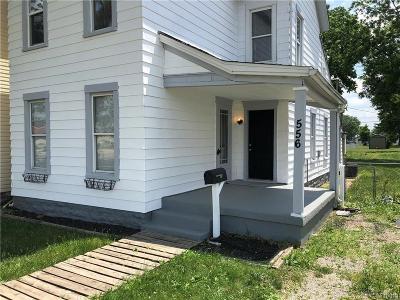 Dayton Single Family Home For Sale: 556 Brandt Street