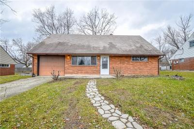 Dayton Single Family Home For Sale: 5623 Botkins Road