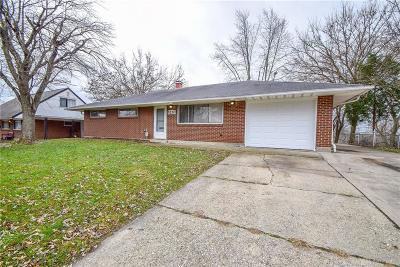 Huber Heights Single Family Home For Sale: 5220 Fishburg Road