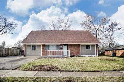 Dayton Single Family Home For Sale: 5611 Benedict Road