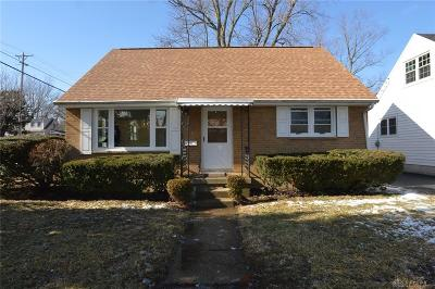 Kettering Single Family Home Pending/Show for Backup: 2825 Wehrly Avenue
