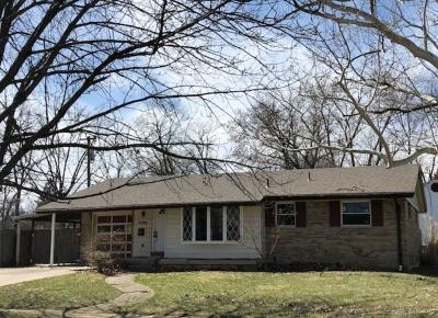 Kettering Single Family Home Pending/Show for Backup: 3700 Pobst Drive