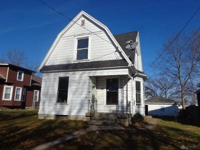 Dayton Single Family Home For Sale: 1023 Nordale Avenue