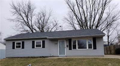 Fairborn Single Family Home For Sale: 1168 Beech Street