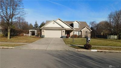 Tipp City Single Family Home Pending/Show for Backup: 609 Primrose Lane