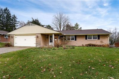 Kettering Single Family Home For Sale: 3048 Glenmere Court