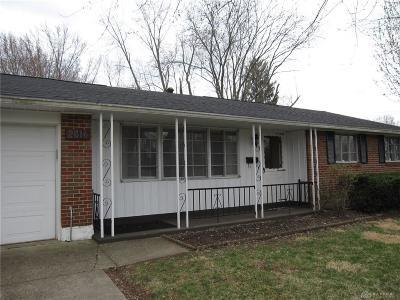 Kettering Single Family Home For Sale: 2816 Swigert Road