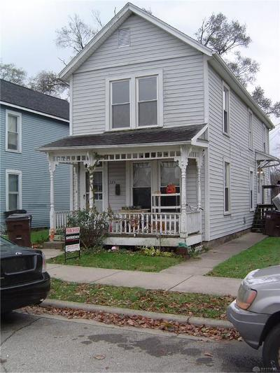 Xenia Multi Family Home For Sale: 275 Third - 275 1/2 Street
