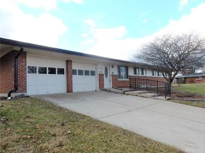 Kettering Single Family Home For Sale: 3201 Claar Avenue