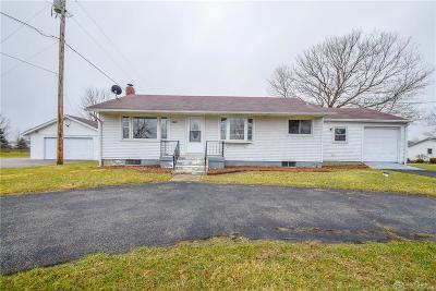 Brookville Single Family Home For Sale: 7843 Arlington Road
