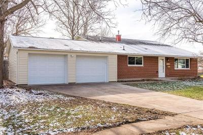 Dayton Single Family Home Pending/Show for Backup: 4133 Weybright Court