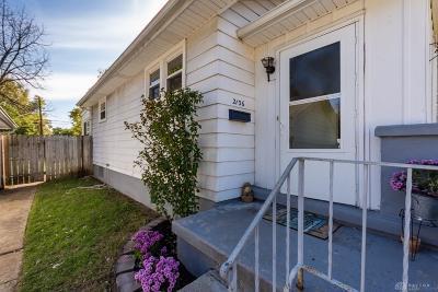 Dayton Single Family Home For Sale: 2136 Sherer Avenue