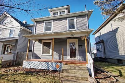 Dayton Single Family Home For Sale: 643 Carlisle Avenue