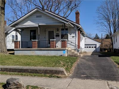 Dayton Single Family Home Pending/Show for Backup: 1404 Pursell Avenue