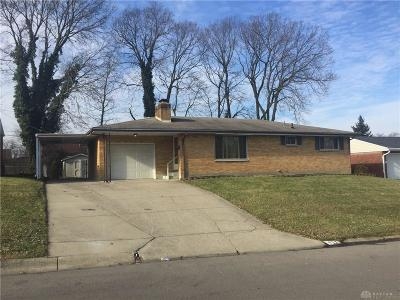 Miamisburg Single Family Home For Sale: 417 Wileray Drive