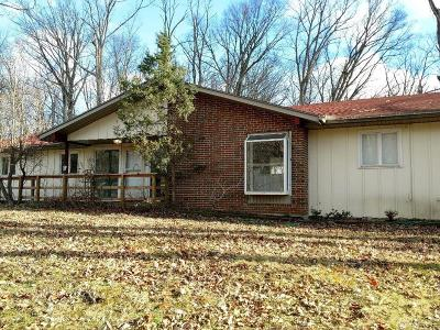Vandalia Single Family Home Pending/Show for Backup: 7626 Brown School Road