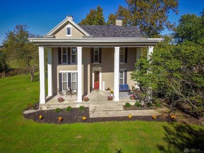 Springboro Single Family Home For Sale: 526 Lower Springboro Road