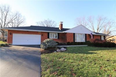 Beavercreek Single Family Home For Sale: 3460 Napanee Drive