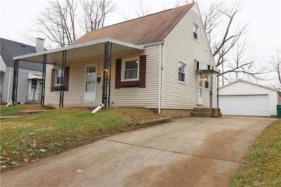 Kettering Single Family Home Pending/Show for Backup: 1959 Bataan Drive