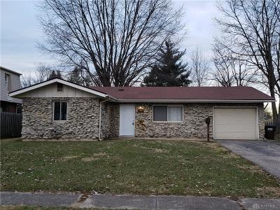 Xenia OH Single Family Home For Sale: $95,000