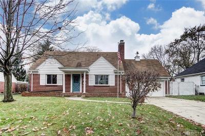 Kettering Single Family Home For Sale: 3641 Shroyer Road