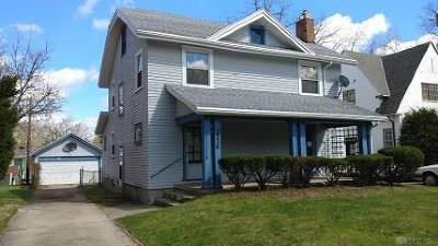 Dayton Single Family Home For Sale: 1536 Euclid Avenue