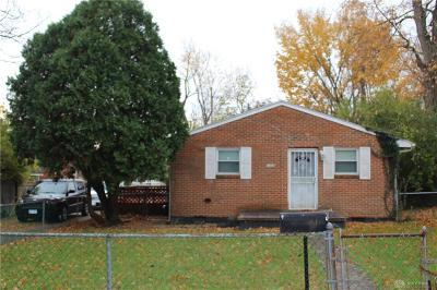 Dayton Single Family Home Pending/Show for Backup: 3536 El Paso Avenue