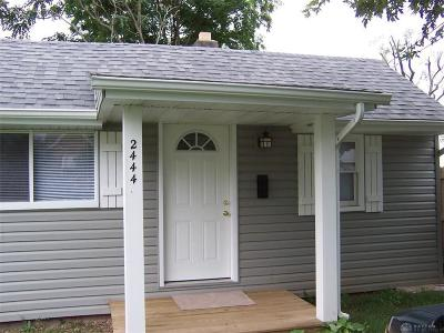 Dayton Single Family Home For Sale: 2444 Ome Avenue