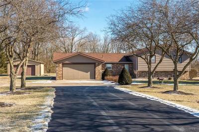 West Milton Single Family Home For Sale: 3955 Rangeline Road