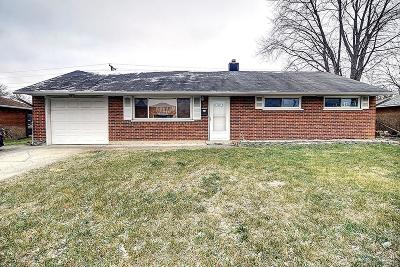 Dayton Single Family Home For Sale: 5457 Brandt Pike