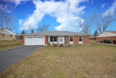 Dayton Single Family Home For Sale: 7479 Mad River Road