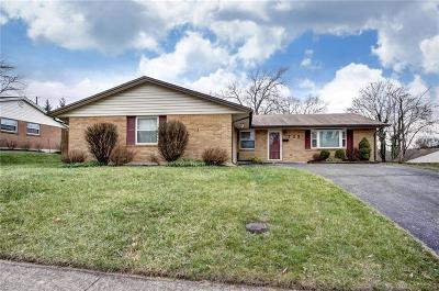 Miamisburg Single Family Home Pending/Show for Backup: 725 Golden Arrow Drive