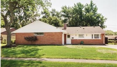 Dayton Single Family Home For Sale: 5742 Beth Road