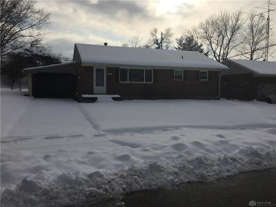 Miamisburg Single Family Home For Sale: 1642 Carolyn Drive