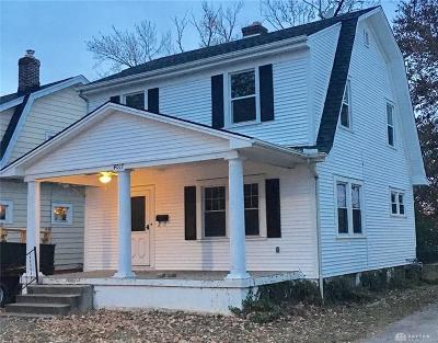 Dayton Single Family Home For Sale: 4017 Corinth Boulevard