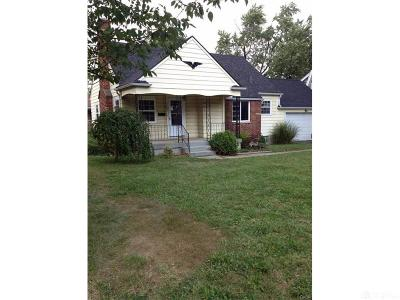 Dayton Single Family Home For Sale: 4005 Corinth Boulevard