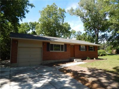 Beavercreek Single Family Home Pending/Show for Backup: 4054 Lyndell Drive