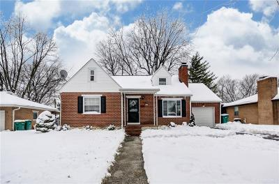 Kettering Single Family Home Pending/Show for Backup: 3729 Wenzler Drive