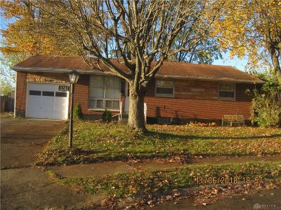 Dayton OH Single Family Home For Sale: $75,000