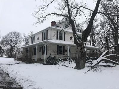 Clayton Single Family Home For Sale: 6155 Union Road
