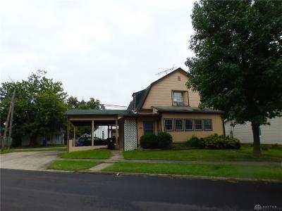 Wilmington OH Single Family Home For Sale: $84,900