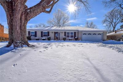 Dayton Single Family Home For Sale: 3306 Northfield Road