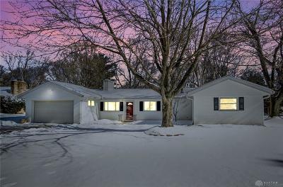 Beavercreek Single Family Home Pending/Show for Backup: 1708 Pierce Drive